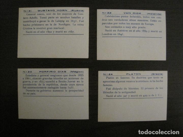 Coleccionismo Cromos antiguos: BANDERAS Y HOMBRES CELEBRES-COLECCION COMPLETA 50 CROMOS-REPUBLICA-VER FOTOS-(V-16.147) - Foto 13 - 155821534