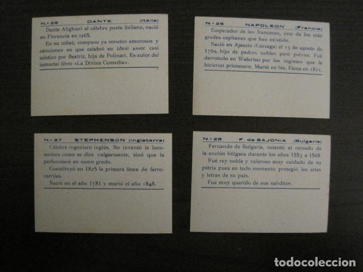 Coleccionismo Cromos antiguos: BANDERAS Y HOMBRES CELEBRES-COLECCION COMPLETA 50 CROMOS-REPUBLICA-VER FOTOS-(V-16.147) - Foto 15 - 155821534
