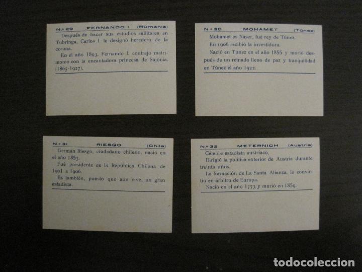 Coleccionismo Cromos antiguos: BANDERAS Y HOMBRES CELEBRES-COLECCION COMPLETA 50 CROMOS-REPUBLICA-VER FOTOS-(V-16.147) - Foto 17 - 155821534