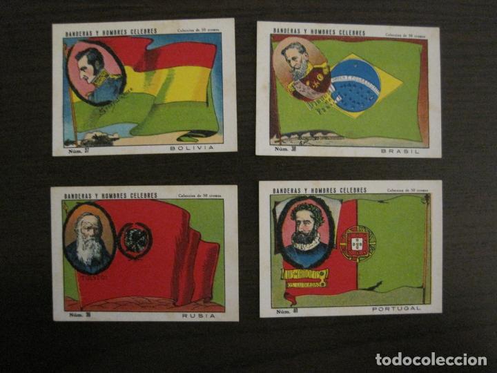 Coleccionismo Cromos antiguos: BANDERAS Y HOMBRES CELEBRES-COLECCION COMPLETA 50 CROMOS-REPUBLICA-VER FOTOS-(V-16.147) - Foto 20 - 155821534