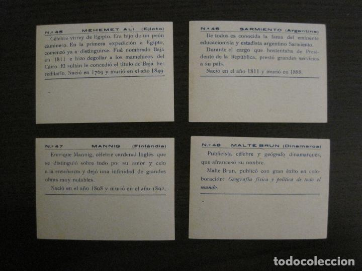 Coleccionismo Cromos antiguos: BANDERAS Y HOMBRES CELEBRES-COLECCION COMPLETA 50 CROMOS-REPUBLICA-VER FOTOS-(V-16.147) - Foto 25 - 155821534
