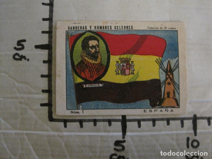 Coleccionismo Cromos antiguos: BANDERAS Y HOMBRES CELEBRES-COLECCION COMPLETA 50 CROMOS-REPUBLICA-VER FOTOS-(V-16.147) - Foto 28 - 155821534