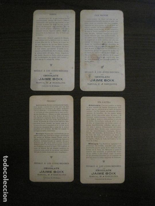 Coleccionismo Cromos antiguos: ASTRONOMÍA POPULAR-COL· COMPLETA 40 CROMOS-CHOCOLATES BOIX-VER FOTOS-(V-16.150) - Foto 12 - 155822262