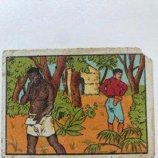 Coleccionismo Cromos antiguos: CROMO UN VIAJE AL AFRICA NUM 18 CHOCOLATES SAN CARLOS Y MENSA. Lote 156175394