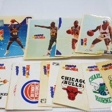 Coleccionismo Cromos antiguos: 23 CROMOS PHOSKITOS NBA DISTINTOS CON SUS TRASERAS CAB. Lote 156177429