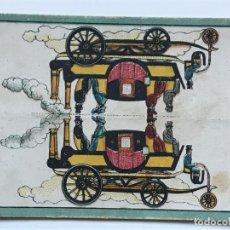 Coleccionismo Cromos antiguos: CROMO LA EVOLUCION DEL AUTOMOVIL. NUM 2. . Lote 156193762