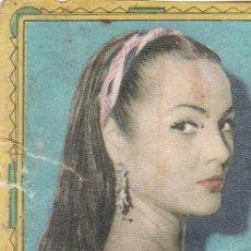 Coleccionismo Cromos antiguos: ESTRELLAS DE CINE. EDITORIAL FHER 1959. SARITA MONTIEL Nº 204. Lote 156661046