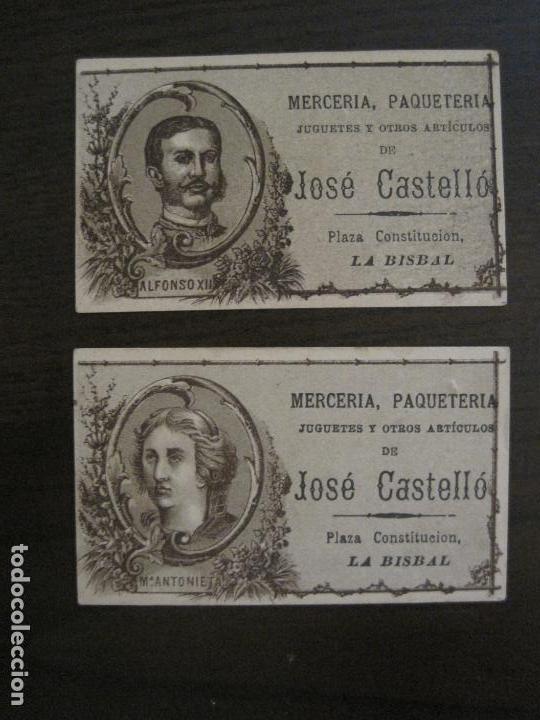 Coleccionismo Cromos antiguos: PERSONAJES CELEBRES-COLECCION 12 CROMOS-LA BISBAL-PUBLICIDAD JOSE CASTELLO-VER FOTOS(V-16.253) - Foto 3 - 158424606