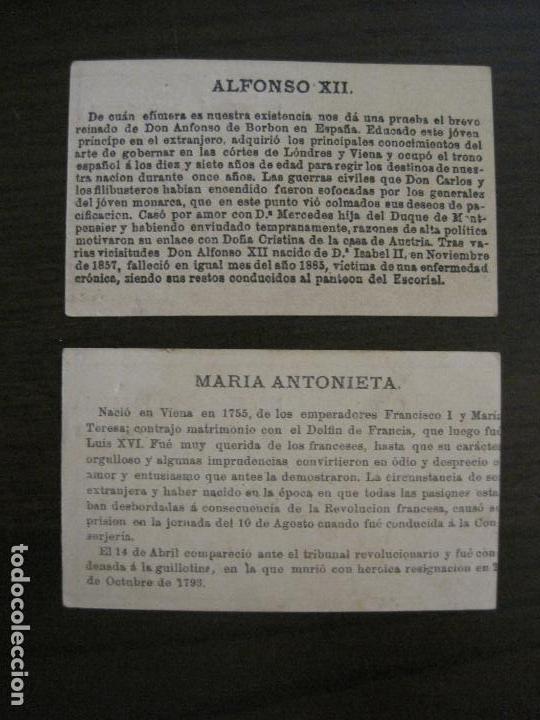 Coleccionismo Cromos antiguos: PERSONAJES CELEBRES-COLECCION 12 CROMOS-LA BISBAL-PUBLICIDAD JOSE CASTELLO-VER FOTOS(V-16.253) - Foto 4 - 158424606