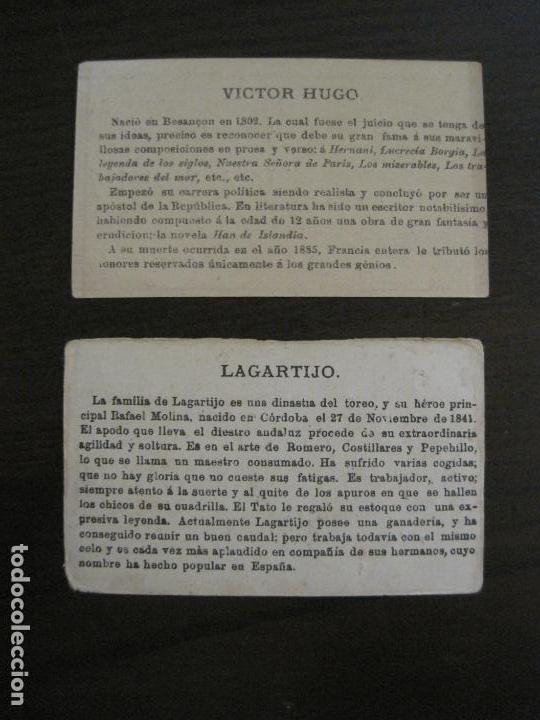 Coleccionismo Cromos antiguos: PERSONAJES CELEBRES-COLECCION 12 CROMOS-LA BISBAL-PUBLICIDAD JOSE CASTELLO-VER FOTOS(V-16.253) - Foto 8 - 158424606