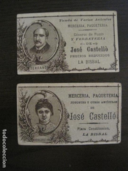 Coleccionismo Cromos antiguos: PERSONAJES CELEBRES-COLECCION 12 CROMOS-LA BISBAL-PUBLICIDAD JOSE CASTELLO-VER FOTOS(V-16.253) - Foto 9 - 158424606