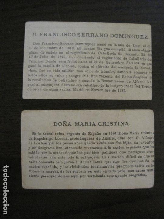 Coleccionismo Cromos antiguos: PERSONAJES CELEBRES-COLECCION 12 CROMOS-LA BISBAL-PUBLICIDAD JOSE CASTELLO-VER FOTOS(V-16.253) - Foto 10 - 158424606