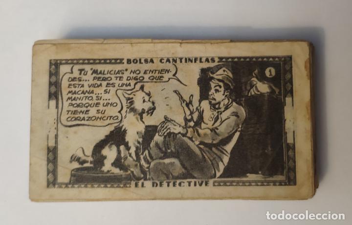 CROMO - BOLSA CANTINFLAS, EL DETECTIVE (COLECCION COMPLETA) (SENDA 1946) (Coleccionismo - Cromos y Álbumes - Cromos Antiguos)