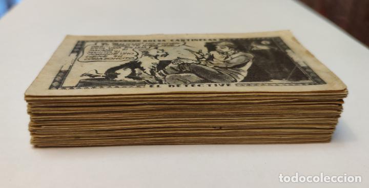 Coleccionismo Cromos antiguos: CROMO - BOLSA CANTINFLAS, EL DETECTIVE (COLECCION COMPLETA) (SENDA 1946) - Foto 2 - 158518230