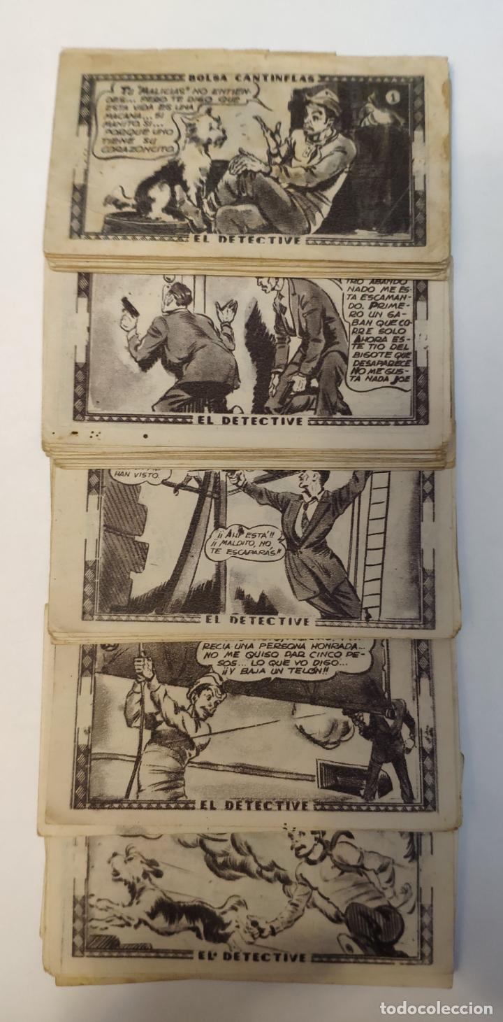 Coleccionismo Cromos antiguos: CROMO - BOLSA CANTINFLAS, EL DETECTIVE (COLECCION COMPLETA) (SENDA 1946) - Foto 3 - 158518230