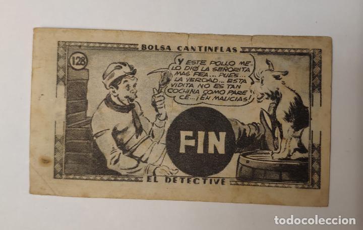 Coleccionismo Cromos antiguos: CROMO - BOLSA CANTINFLAS, EL DETECTIVE (COLECCION COMPLETA) (SENDA 1946) - Foto 5 - 158518230