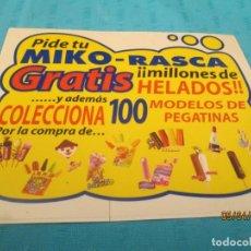 Coleccionismo Cromos antiguos: PROMOCIONES MIKO . Lote 158652230