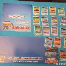 Coleccionismo Cromos antiguos: PROMOCIONAL BIMBOCAO BIMBO + CROMOS . Lote 158654306