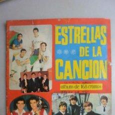 Coleccionismo Cromos antiguos: 100 CROMOS ALBUM CROMOS ESTRELLAS CANCION. SE VENDEN SUELTOS A 1 EURO UNIDAD. Lote 159046798