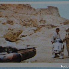 Coleccionismo Cromos antiguos: CROMO DE LA GUERRA DE LAS GALAXIAS-STAR WARS SIN PEGAR Nº 49 DEL ALBUM LA GUERRA DE.. DE PACOSA DOS. Lote 171963227