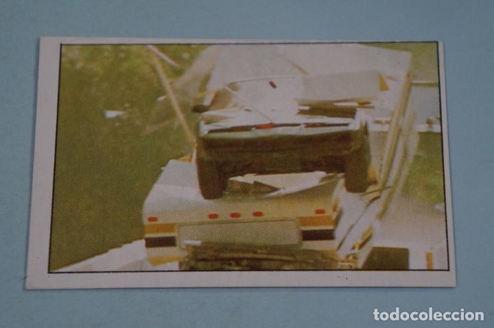 CROMO DE EL COCHE FANTASTICO SIN PEGAR Nº 13 AÑO 1982 DEL ALBUM EL COCHE FANTASTICO DE MAGA (Coleccionismo - Cromos y Álbumes - Cromos Antiguos)