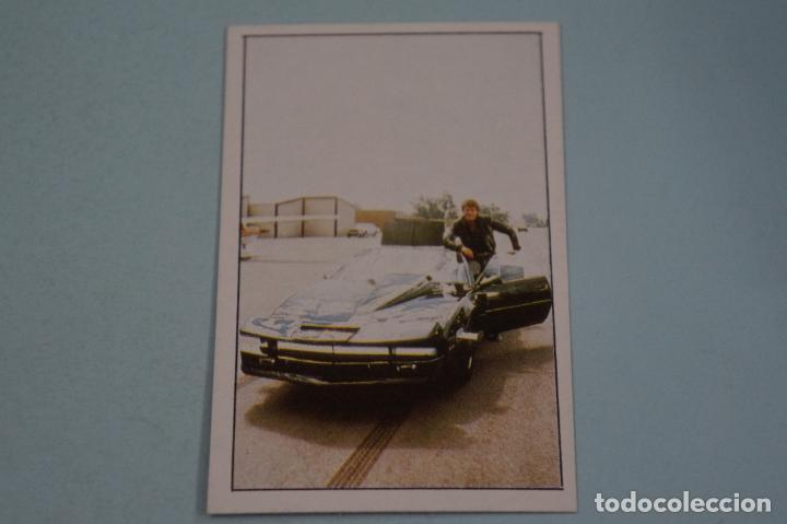 CROMO DE EL COCHE FANTASTICO SIN PEGAR Nº 57 AÑO 1982 DEL ALBUM EL COCHE FANTASTICO DE MAGA (Coleccionismo - Cromos y Álbumes - Cromos Antiguos)