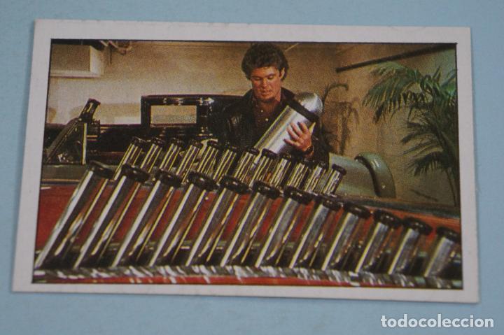 CROMO DE EL COCHE FANTASTICO SIN PEGAR Nº 76 AÑO 1982 DEL ALBUM EL COCHE FANTASTICO DE MAGA (Coleccionismo - Cromos y Álbumes - Cromos Antiguos)