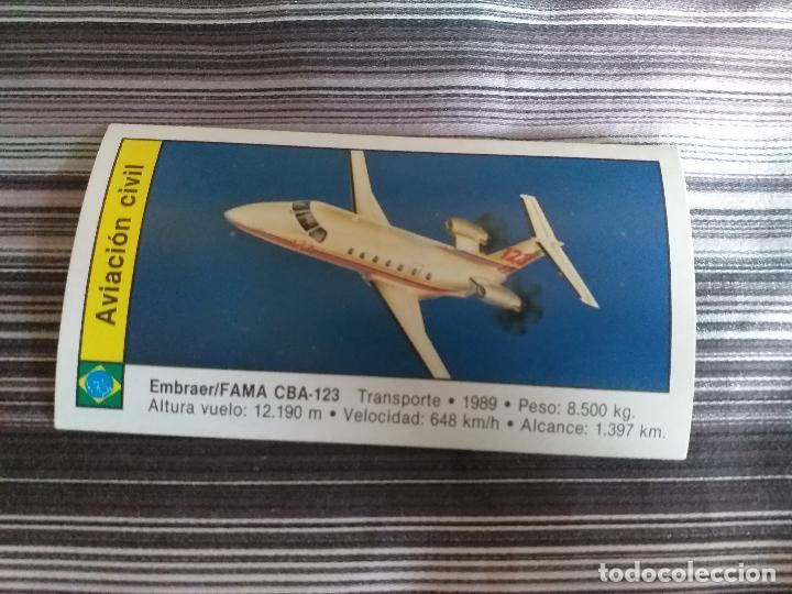 CROMO AVIONES CUSCO 1989 Nº 40 (Coleccionismo - Cromos y Álbumes - Cromos Antiguos)