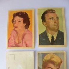 Coleccionismo Cromos antiguos: LOTE DE 100 CROMOS .ESTRELLAS PANTALLA FERCA 1958. SE VENDEN SUELTOS A 1,5 EUROS UNIDAD. Lote 160161006