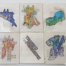 Coleccionismo Cromos antiguos: LOTE CROMOS VISIORAMAS BOLLYCAO TRANSFORMERS. Lote 160264197