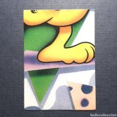 Coleccionismo Cromos antiguos: (C-15) CROMO (SIN PEGAR) - ALBUM GARFIELD 1989 - N°122. Lote 160729118