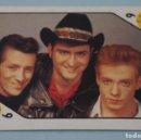 Coleccionismo Cromos antiguos: CROMO DE LOS REBELDES SIN PEGAR AÑO 1988 DEL ALBUM TELE BANCO POP STARS DE ESTE. Lote 160983846