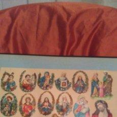 Coleccionismo Cromos antiguos: CROMOS TROQUELADOS RELIGIOSOS ,AÑOS 50 .VER FOTOS Y LEER DESCRIPCION. Lote 161176793