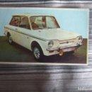 Coleccionismo Cromos antiguos: CROMO SIN PEGAR COCHE AUTO 1967 BRUGUERA Nº 189 SUNBEAM. Lote 161197866