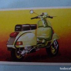 Coleccionismo Cromos antiguos: CROMO DE MOTOS VESPA SIN PEGAR Nº 68 AÑO 1982 DEL ALBUM A TODO GAS DE MAGA. Lote 212781215