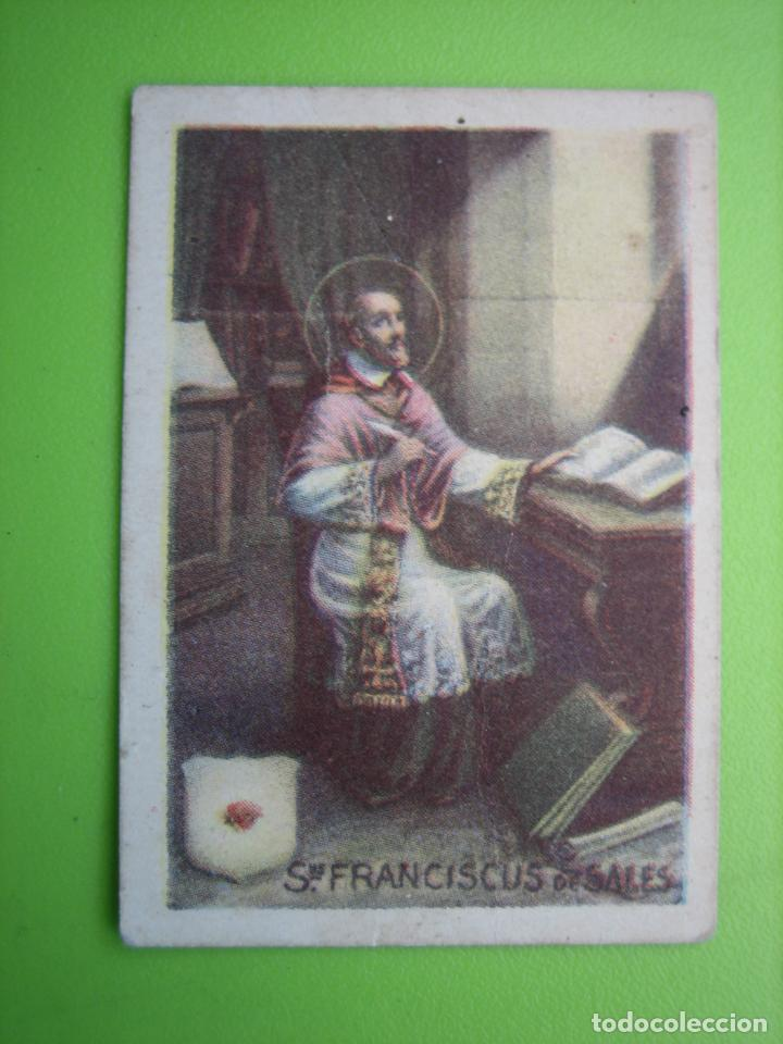 ANTIGUO CROMO RELIGIOSO (Coleccionismo - Cromos y Álbumes - Cromos Antiguos)