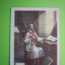 Coleccionismo Cromos antiguos: ANTIGUO CROMO RELIGIOSO. Lote 161715134