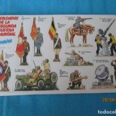 Coleccionismo Cromos antiguos: PHOSKITOS SOLDADOS DE LA SEGUNDA GUERRA MUNDIAL. Lote 161733890