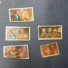 Coleccionismo Cromos antiguos: ANTIGUOS CROMOS. Lote 157002540