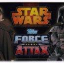 Coleccionismo Cromos antiguos: CARTAS STAR WARS FORCE ATTAX EN SOBRE SIN ABRIR. 2013. Lote 162505530