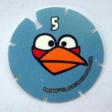 Coleccionismo Cromos antiguos: ANGRY BIRDS TAZO Nº 5. Lote 162778946