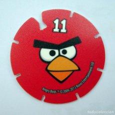 Coleccionismo Cromos antiguos: ANGRY BIRDS TAZO Nº 11. Lote 162779158
