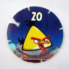 Coleccionismo Cromos antiguos: ANGRY BIRDS TAZO Nº 20. Lote 162779346