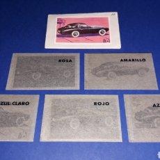 Coleccionismo Cromos antiguos: PEGASO Z-102 FOTOLITOS ORIGINALES DEL CROMO Nº 115, ALBUM CONQUISTAS MODERNAS, ED. CRISOL, AÑO 1957.. Lote 163800502