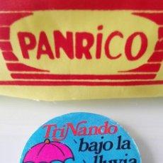 Coleccionismo Cromos antiguos: CROMO NO PANRICO BOLLYCAO TRINA TRINARANJUS TRINANDO BAJO LA LLUVIA REDONDO. Lote 164987690