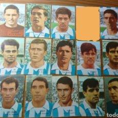Coleccionismo Cromos antiguos: RCD ESPAÑOL, LOTE 14 CROMOS FHER 66-67, NUNCA PEGADOS, 1966-1967 DISGRA. Lote 162427405