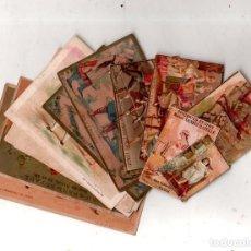 Coleccionismo Cromos antiguos: LOTE DE 16 CROMOS LITOGRAFICOS. VER FOTOS.. Lote 165185566