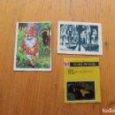 Coleccionismo Cromos antiguos: 3 CROMOS ANTIGUOS. Lote 165594934