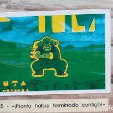 Coleccionismo Cromos antiguos: PANINI DRAGON BALL Z PRIMER ALBUM 1 CROMO RECUPERADO NUMERO 15. Lote 165751586