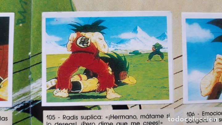 PANINI DRAGON BALL Z PRIMER ALBUM 1 CROMO RECUPERADO NUMERO 105 (Coleccionismo - Cromos y Álbumes - Cromos Antiguos)